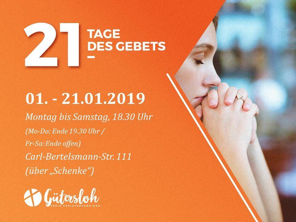 21 Tage des Gebets