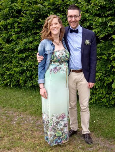 Josua Richter und seine Frau