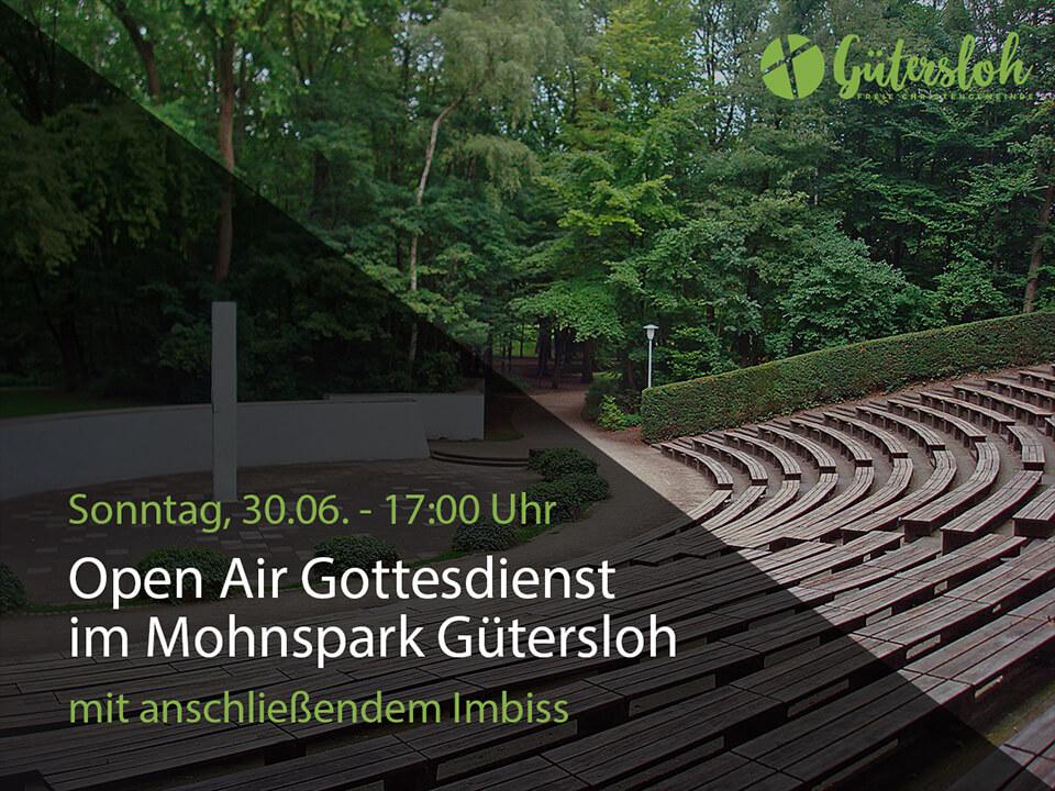 OpenAir Gottesdienst im Mohnspark Gütersloh