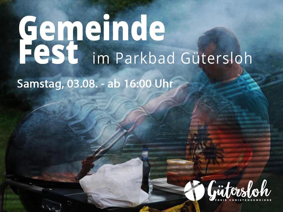Gemeindefest im Parkbad Gütersloh